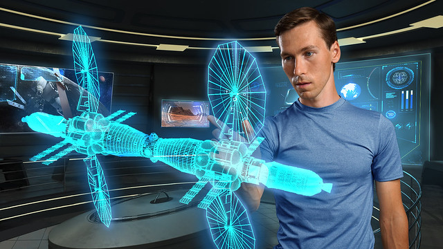 Utilizing AR and VR in Deep Space