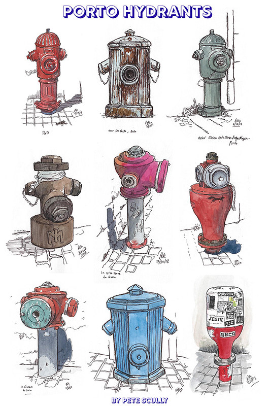 Porto Hydrants sm