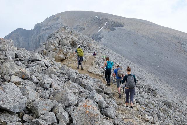 Scrambles - Mt. Bourgeau-4