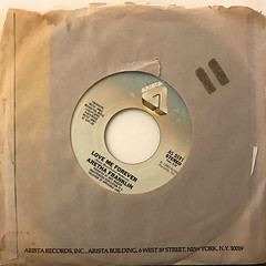 ARETHA FRANKLIN:WHAT A FOOL BELIEVES(JACKET B)
