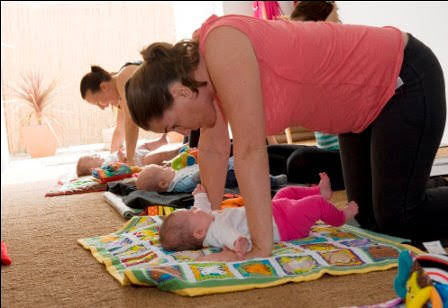 Mum and Bub Yoga