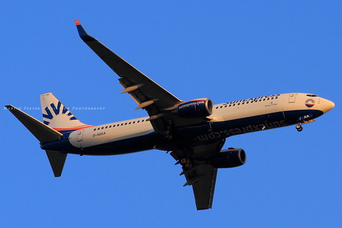 D-ASXA // SunExpress Germany // Boeing 737-8Z9(WL)