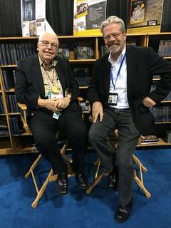Dave Bowers and Bob Shippee at Whitman booth
