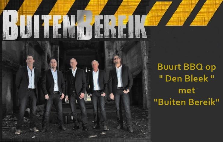 """Buurfeesten en BBQ op """"Den Bleek"""" met """"Buiten Bereik"""""""