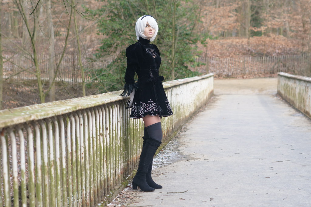 related image - Shooting Nier Automata - 2B - Raven Dice - Bruxelles -2018-03-18- P1122012