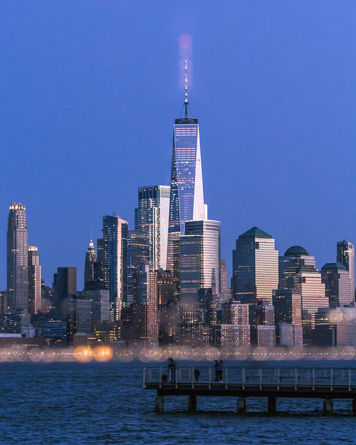 Blue Hour Over NYC