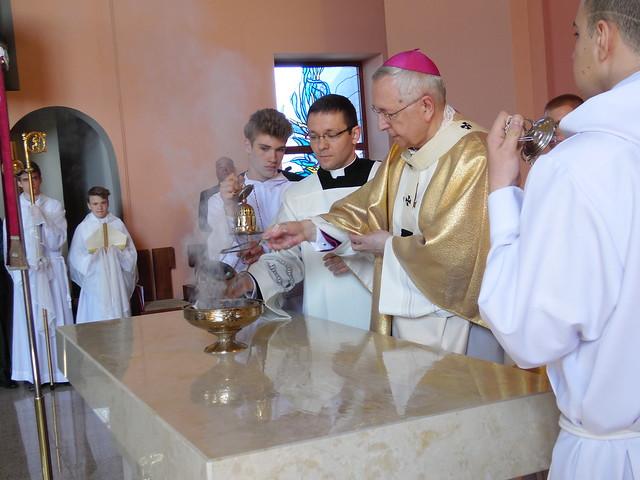 Konsekracja kościoła w Luboniu