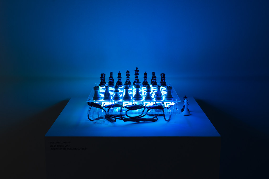 Painted Pieces: Art Chess by Purling London