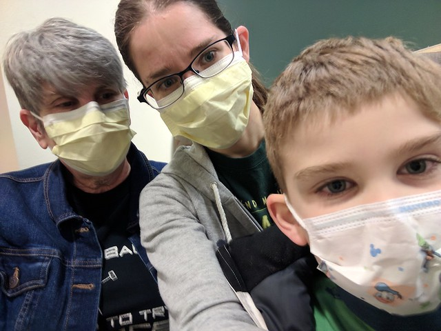 3 Generations of Face Masks