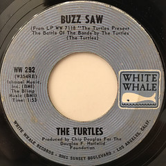 THE TURTLES:YOU SHOWED ME(LABEL SIDE-B)