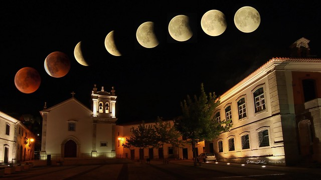 Blood Moon 2018  -  Longest Total Lunar Eclipse of the Century  -  2018-07-27