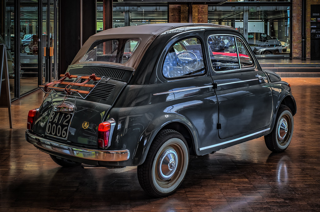 Fiat 500 Rear View Peters Hdr Hobby Pictures Flickr