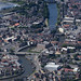 Boston & the River Witham in Lincolnshire - aerial