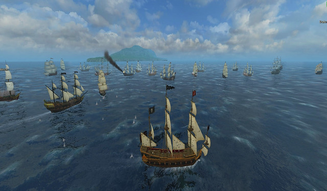 Spanish Treasure fleet encounter