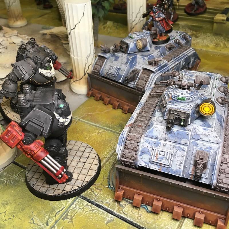 Medal of Colors Indomitus Crusade Battles-37