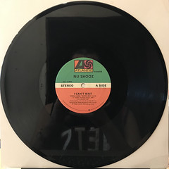 NU SHOOZ:I CAN'T WAIT(RECORD SIDE-A)