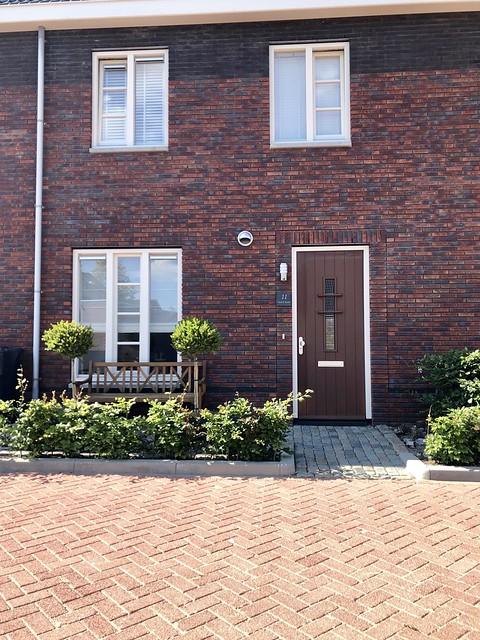 Voordeur woning landelijke stijl