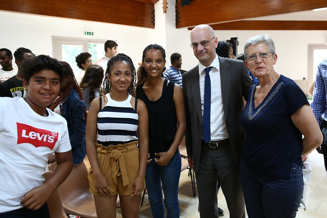 Jean-Michel Blanquer à la rencontre de la jeunesse dans les Landes