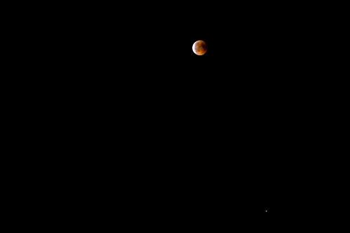 Mondfinsternis und Mars 2018