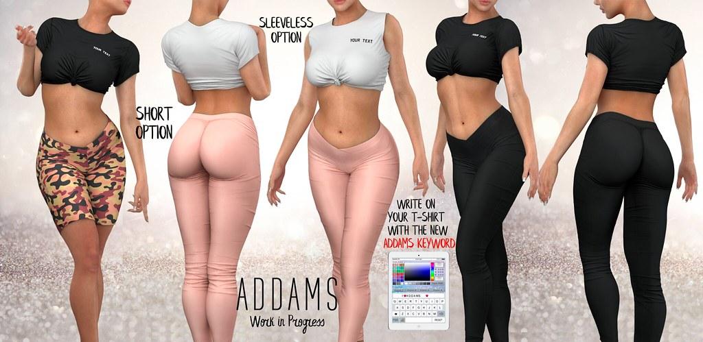 Addams WIP & Social Media!