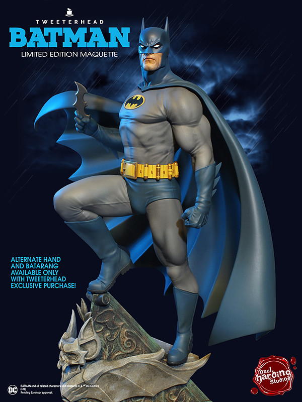 Tweeterhead Super Powers 系列 DC Comics【蝙蝠俠】Batman 1/6 比例全身雕像作品