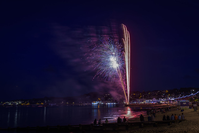 Swanage Carnival Fireworks 01-08-2018 11