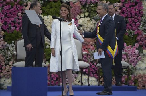 COLOMBIA-INAUGURATION-DUQUE-RAMIREZ