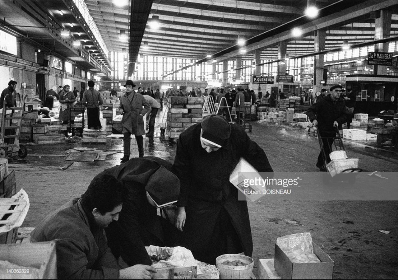 1969. Рюнжи, новый оптовый рынок Парижа