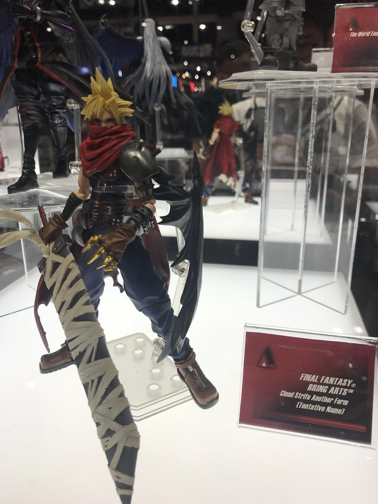 [SDCC 2018] Square Enix Displays New Bring Arts Figures from Final Fantasy, Dragon Quest and Kingdom Hearts