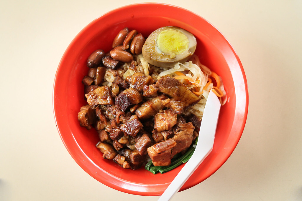 Fun Fan TW Style Braised Pork Rice - Top Down