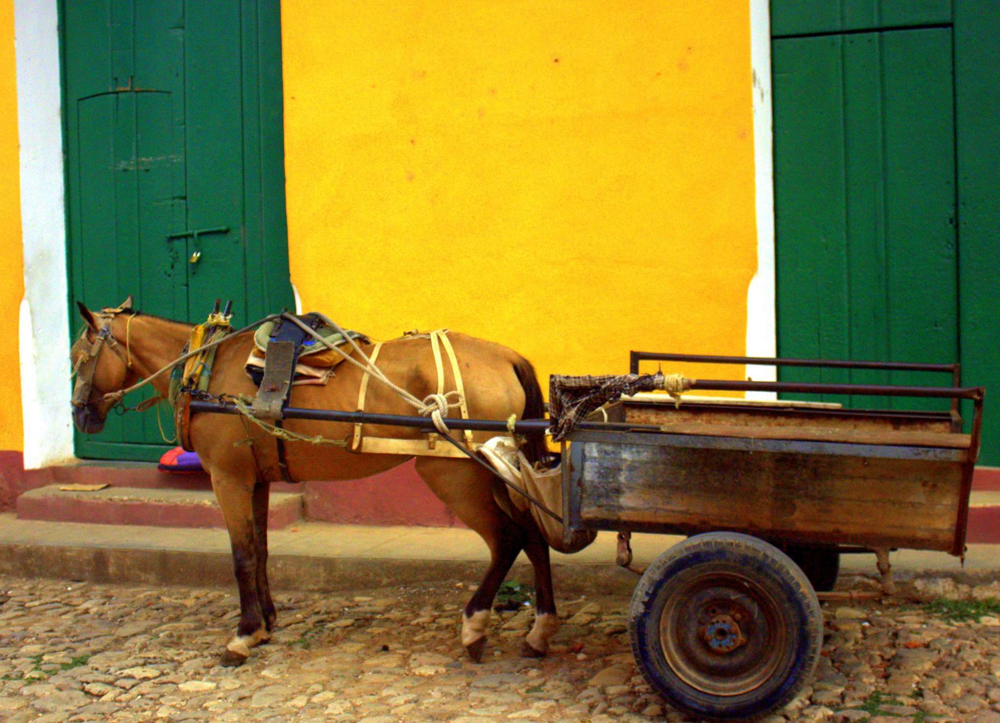 Trinidad Cuba is very touristy