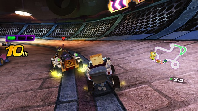 Nickelodeon Kart Racer - Co-op