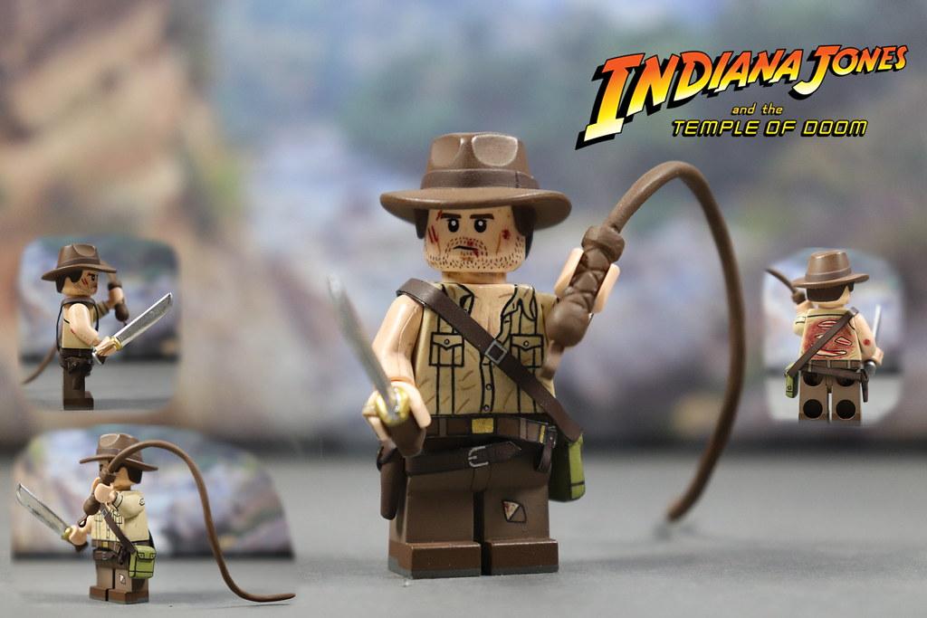 Custom LEGO Indiana Jones Temple of Doom  Indiana Jones  b4c63f8c80f