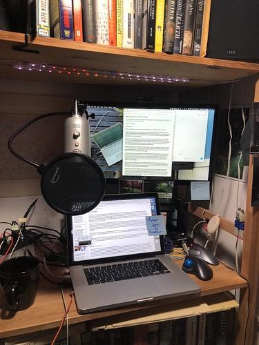 Ready for my closeup on BBC Radio 4!