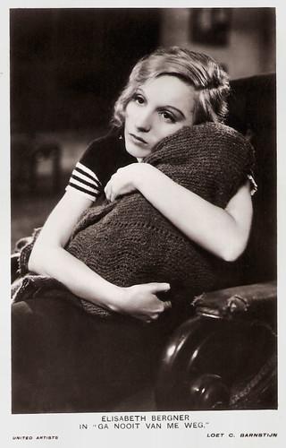 Elisabeth Bergner in Escape Me Never (1935)