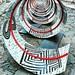 """#ColumnaMutãtio. La spirale"""" è un'installazione monumentale di arte contemporanea, ideata dall'artista #LuminiţaȚăranu, ispirata alla Colonna di Traiano e realizzata in occasione della mostra """"Traiano. Costruire l'Impero, creare l'Europa"""", ospitata dai #M"""