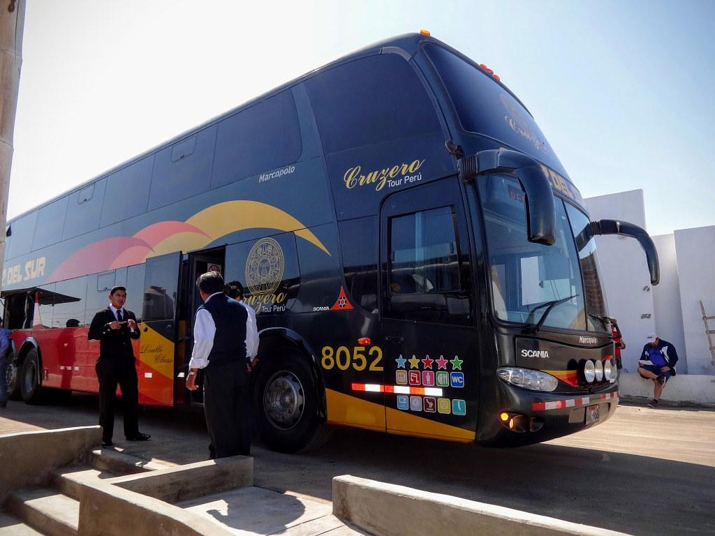 Autobusy w Peru