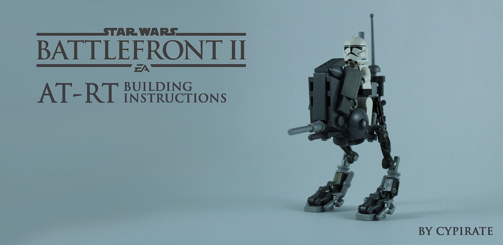 Lego AT-RT Tutorial 1/8 – Front page