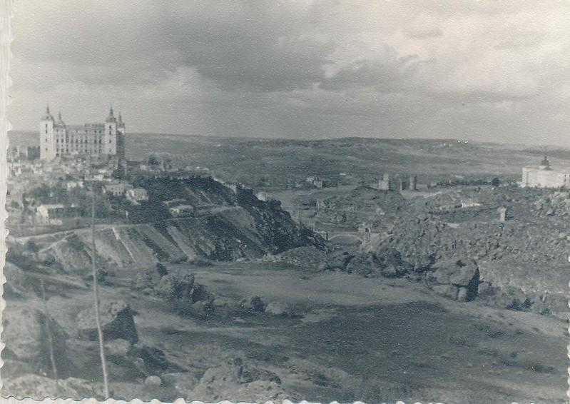 El Valle en 1963. Fotografía de Julián C.T.