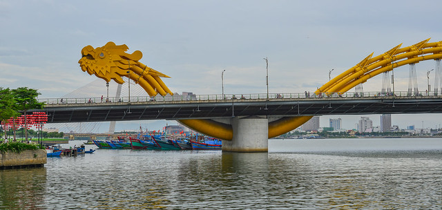Dragon Bridge of Da Nang, Vietnam