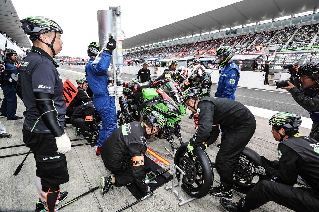 8,Hours,Suzuka,2018,EWC,Kawasaki Team Green,Kazuma WATANABE,Leon HASLAM,Jonathan REA