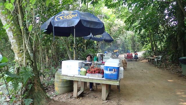 Ah Mah's Drinkstall at Sungei Jelutong, Pulau Ubin