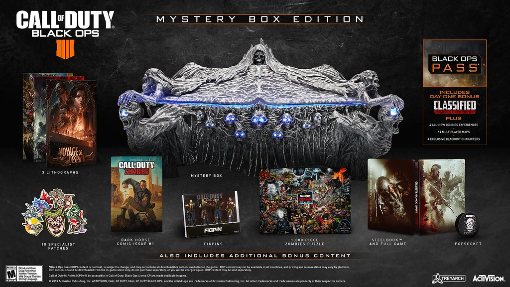 Call of Duty Black Ops 4: Mystery Box Edition