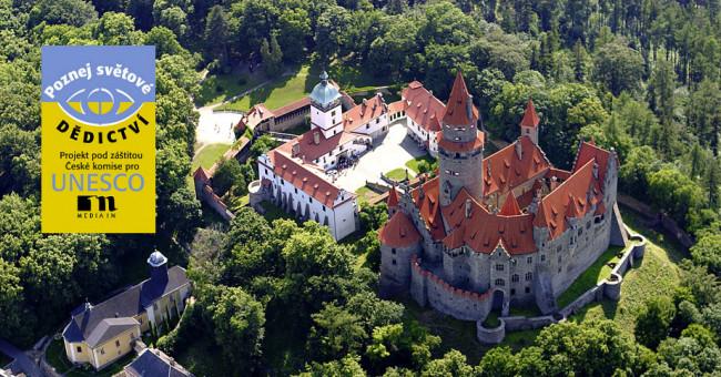 Švýcarské dědictví UNESCO na státním hradě Bouzov, po Karlštejně nejvíce navštěvovaném hradu České republiky