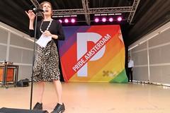 Pride Walk 2018 Amsterdam - Wethouder Simone Kukenheim