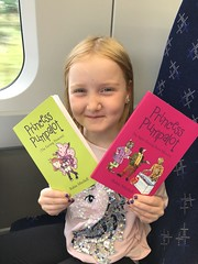Tue, 08/07/2018 - 20:30 - Fantastic photo of Scarlett with both books. #Fart2018