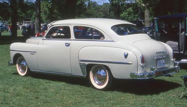 1950 Dodge Wayfarer 2 door sedan