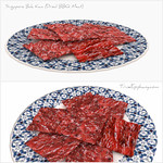 Singapore Bak Kwa or Dried BBQ Meat 3D Models