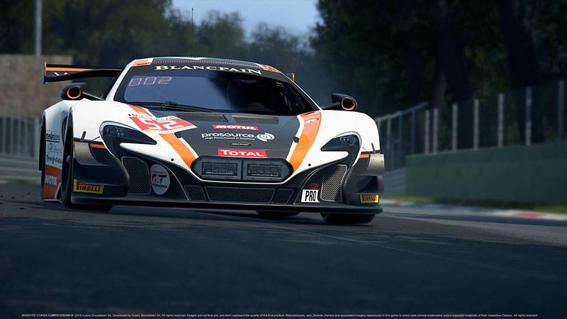 Assetto Corsa Competizione McLaren GT3