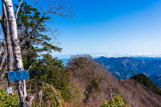 三ッドッケ(天目山)山頂